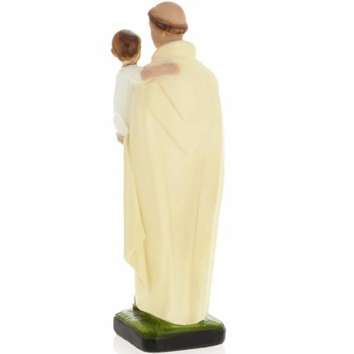 Statua Sant'Alberto 30 cm gesso s3