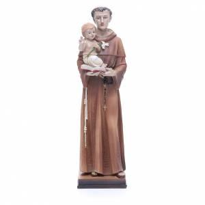Statue in resina e PVC: Statua Sant' Antonio 30 cm resina colorata