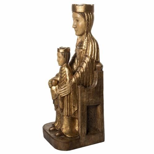Vergine Incoronata di Séez 66 cm legno dorato Bethléem s3