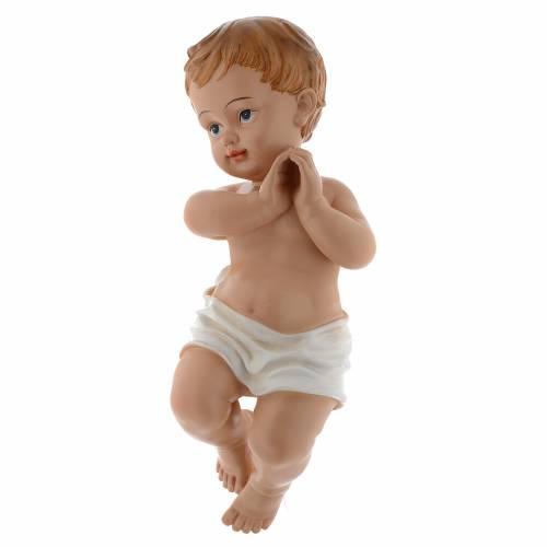 Statue Enfant Jésus 39,5 cm en résine s2
