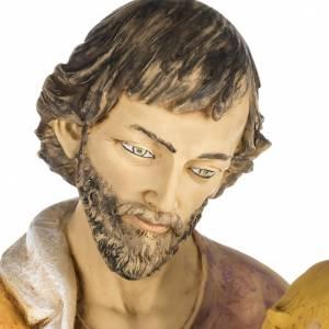 Statuen aus Harz und PVC: Statue Heiliger Josef aus Harz 100cm, Fontanini
