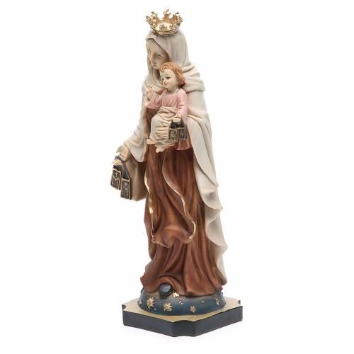 Statue Notre-Dame Mont-Carmel 32 cm résine s2