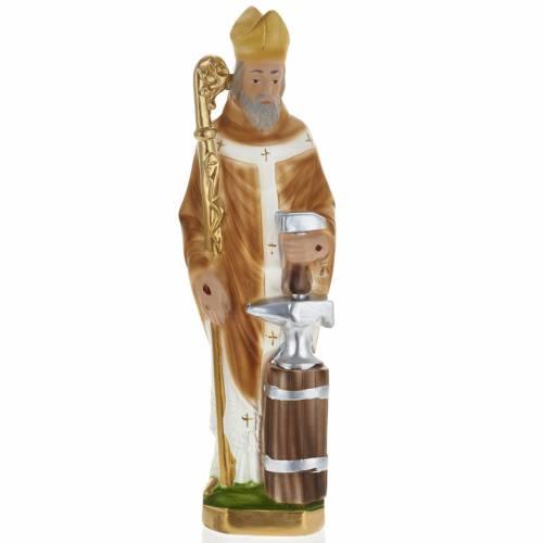 Statue Saint Éloi de Noyon plâtre 30 cm s1