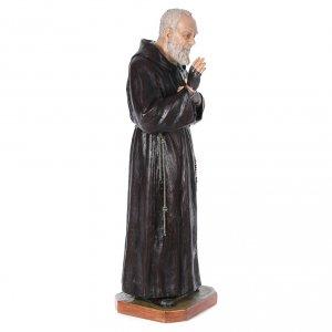 Statue Saint Pio de Pietrelcina fibre de verre 175cm Landi s3