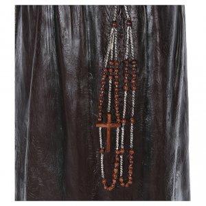 Statue Saint Pio de Pietrelcina fibre de verre 175cm Landi s7