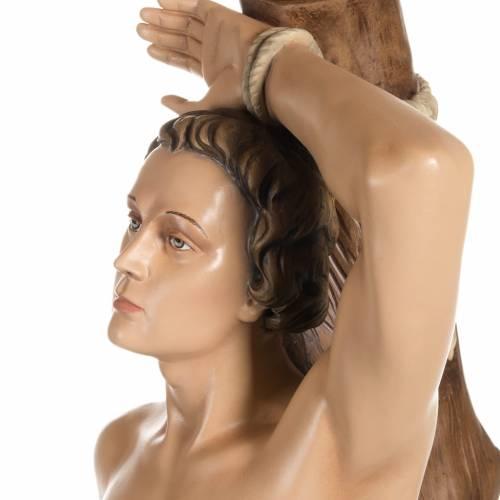 Statue Saint Sébastien fibre de verre 125 cm s8