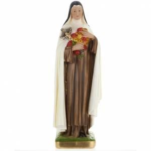 Statue Sainte Theresa plâtre 60 cm s1