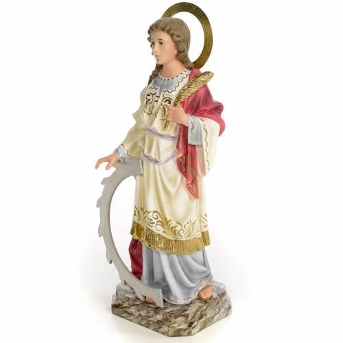 Ste Catherine martyre 40c pâte bois élégante s2