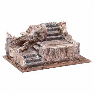 Steintreppe für Krippe 10x25x15cm s3