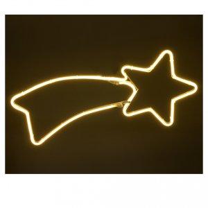 Stella luminosa  240 led luce calda tubo led neon s4
