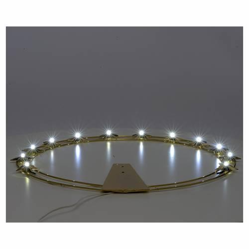 Stellario con LED in ottone 40 cm s3
