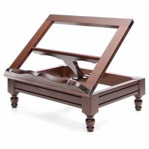STOCK Atril de mesa madera oscura s2