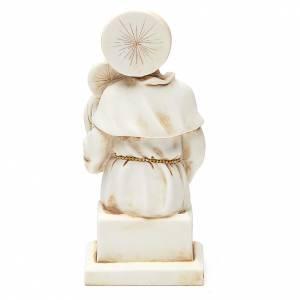 STOCK Saint Antoine 15 cm plâtre ivoire s2