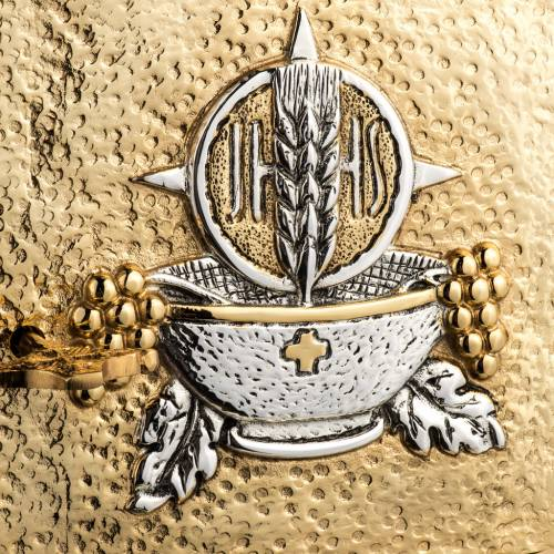 Tabernacle laiton fondu doré eucharistie s2