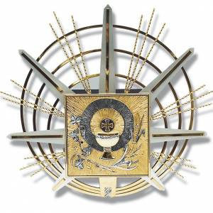 Tabernacles: Tabernacle for wall with eucharistic symbols