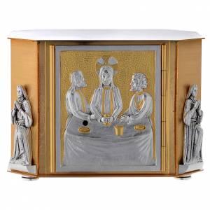 Sagrarios: Sagrario de mesa última cena dorado