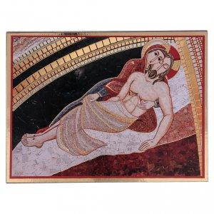 Tavola stampa Rupnik Pietà 10x15 cm s1