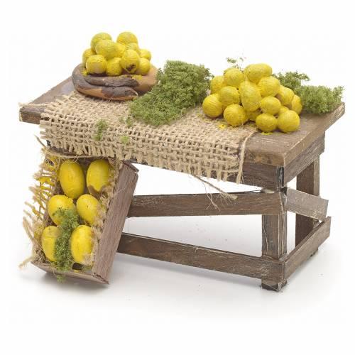 Tavolo limoni presepe Napoletano s1