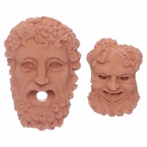 Accessori presepe per casa: Teste Dei greci Zeus e Bacco