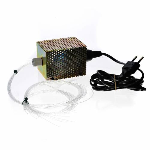 Étoiles fibre optique 30 fils 25W 220V s1