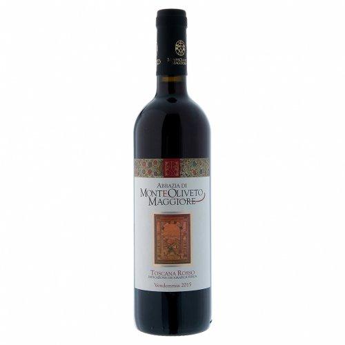 Vino Toscana Rosso 2015 Abbazia Monte Oliveto 750 ml 1