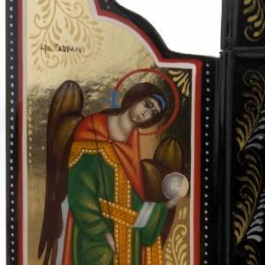 Trittico Russia dipinto 18 x 12 cm s5