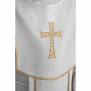 Vestidos comunión: Túnica Primera Comunión bordado de cruz