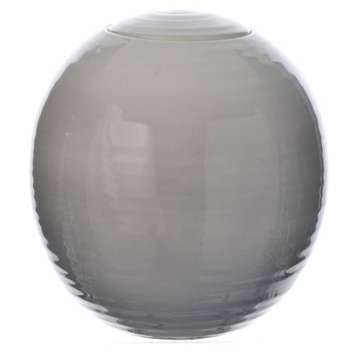 Urna fúnebre porcelana mod. Murano Blanco esfumado s1