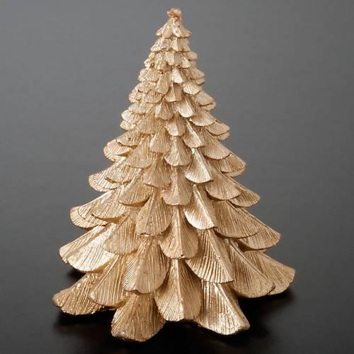 Vela navideña árbol 3