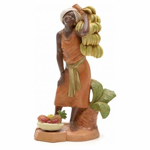 Venditore di banane 19 cm Fontanini s1