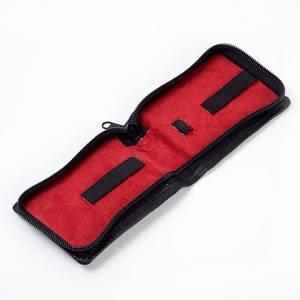 Hostiendosen und Hostienbehälter: Versehepatenen-Etui Leder