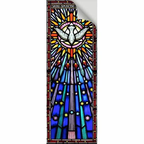 Vetrofania Spirito Santo 10,5X30 cm 2