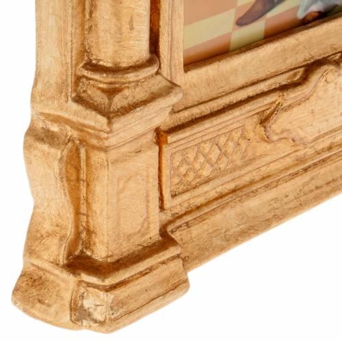 Via Crucis altarini in legno XV stazioni s7