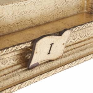 Via Crucis madera con espiral a punta XV estaciones s5