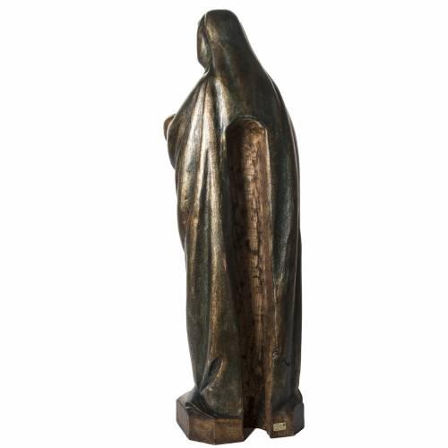 Vierge à l'enfant d'Autun 100cm bois dore s4