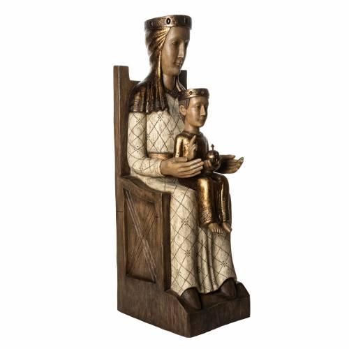 Vierge Catalane 105 cm bois peint Bethléem s2