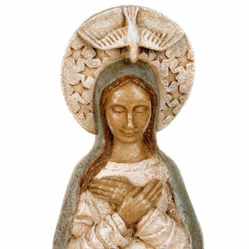 Vierge de l'Avent pierre 57 cm s4