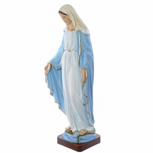 Vierge Immaculée 130 cm statue fibre de verre s2