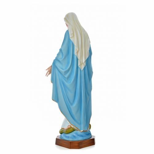 Vierge Immaculée 180 cm fibre de verre colorée s3