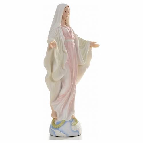 Vierge Miraculeuse 26cm résine peinte s2