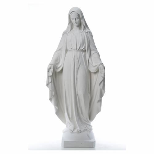 Vierge Miraculeuse poudre de marbre 130 cm s1