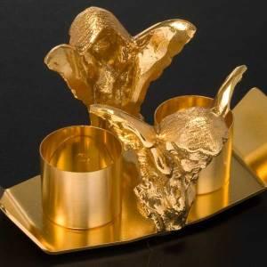 Vinajeras Metal: Vinajeras decoración Ángel