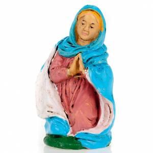 Figuras del Belén: Virgen de rodillas 10 cm.