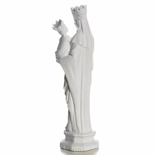 Virgen de Trápani 25cm mármol blanco s3
