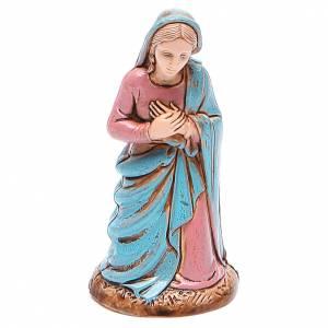 Virgen María 10 cm Moranduzzo estilo clásico s1