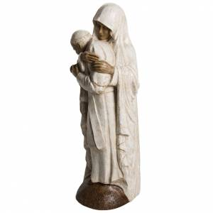 Virgin Mary and Jean Paul II stone statues 56 cm, Bethlehem Nuns s3