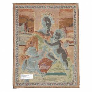 Wandteppiche: Wandteppich Gottesmutter Aldobrandini von Raffaello 65x50cm