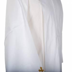 White alb cotton cross motif s3