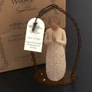 Willow Tree - A tree, a prayer - Trellis Ornament s4