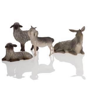 Willow Tree statues: Willow Tree - Sheltering Animals for Holy Family (animaux)